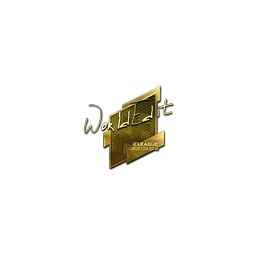 Sticker | WorldEdit (Gold) | Boston 2018