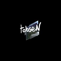 Sticker | tabseN (Foil) | Boston 2018