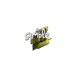 Sticker | s1mple | Boston 2018