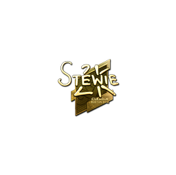 Sticker | Stewie2K (Gold) | Boston 2018