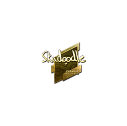 Sticker | Skadoodle (Gold) | Boston 2018