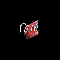 Sticker | rain | Boston 2018