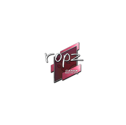 Sticker | ropz | Boston 2018