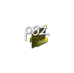 Sticker | paz | Boston 2018
