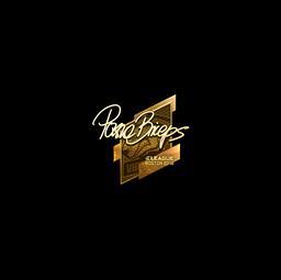 Sticker | pashaBiceps (Gold) | Boston 2018