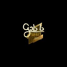 Sticker | gob b (Gold) | Boston 2018