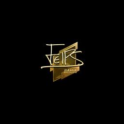 Sticker | felps (Gold) | Boston 2018