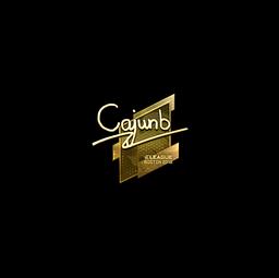Sticker | cajunb (Gold) | Boston 2018