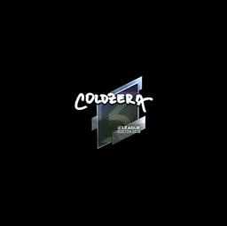 Sticker | coldzera (Foil) | Boston 2018