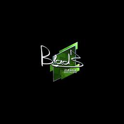 Sticker | B1ad3 (Foil) | Boston 2018