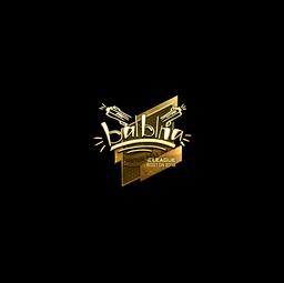 Sticker | balblna (Gold) | Boston 2018