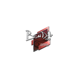 Sticker | bondik | Boston 2018