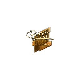 Sticker | BIT (Gold) | Boston 2018