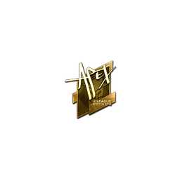 Sticker | apEX (Gold) | Boston 2018