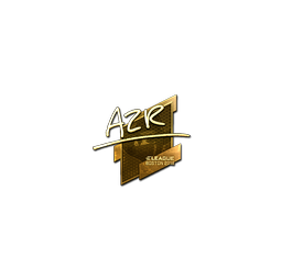 Sticker | AZR (Gold) | Boston 2018