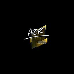 Sticker   AZR (Foil)   Boston 2018