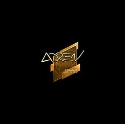 Sticker | AdreN (Gold) | Boston 2018