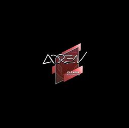 Sticker   AdreN   Boston 2018