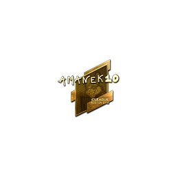 Sticker | AmaNEk (Gold) | Boston 2018
