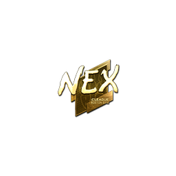 Sticker | nex (Gold) | Boston 2018