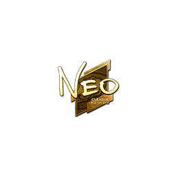 Sticker | NEO (Gold) | Boston 2018