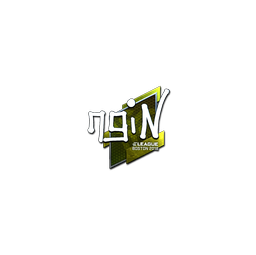 Sticker   ngiN (Foil)   Boston 2018
