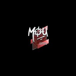 Sticker | mou | Boston 2018