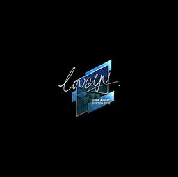 Sticker | LoveYY (Foil) | Boston 2018