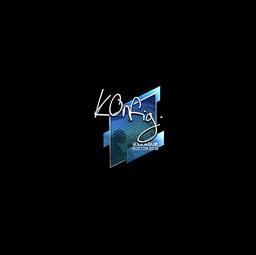 Sticker | k0nfig (Foil) | Boston 2018