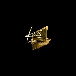 Sticker | Kvik (Gold) | Boston 2018