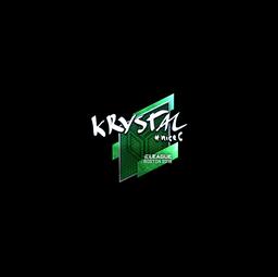 Sticker | kRYSTAL (Foil) | Boston 2018