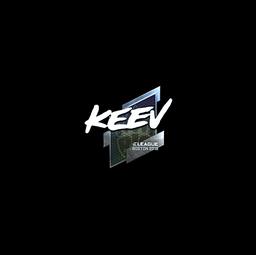 Sticker | keev (Foil) | Boston 2018