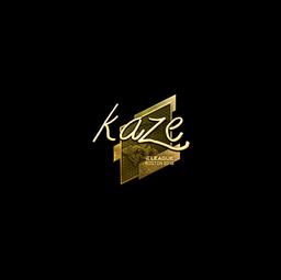 Sticker | Kaze (Gold) | Boston 2018