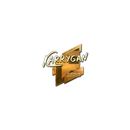 Sticker | karrigan (Gold) | Boston 2018