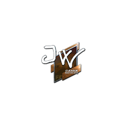 Sticker | JW (Foil) | Boston 2018