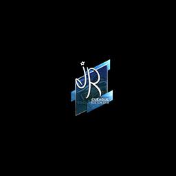 Sticker | jR (Foil) | Boston 2018
