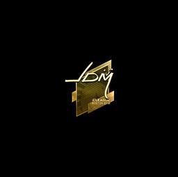Sticker   jdm64 (Gold)   Boston 2018