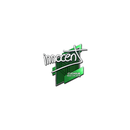 Sticker | innocent | Boston 2018