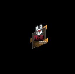 Sticker | Misfits Gaming | Boston 2018