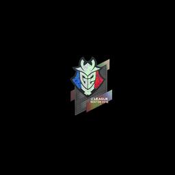 Sticker   G2 Esports (Holo)   Boston 2018