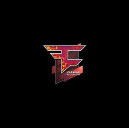 Sticker | FaZe Clan (Holo) | Boston 2018