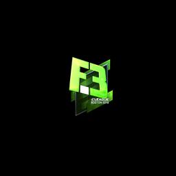 Sticker | Flipsid3 Tactics (Foil) | Boston 2018