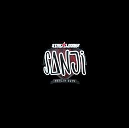 Sticker | SANJI (Foil) | Berlin 2019