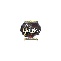 Sticker | gla1ve (Gold) | Berlin 2019