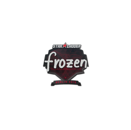 Sticker | frozen | Berlin 2019