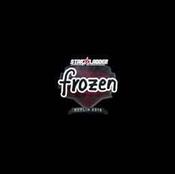 Sticker | frozen (Foil) | Berlin 2019