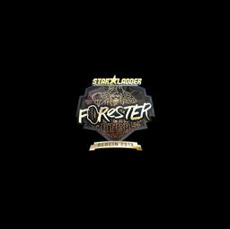 Sticker | Forester (Gold) | Berlin 2019