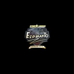 Sticker | EspiranTo (Gold) | Berlin 2019