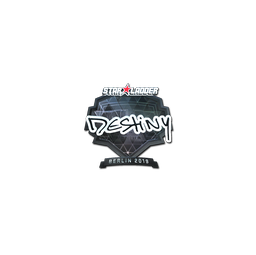 Sticker | DeStiNy (Foil) | Berlin 2019