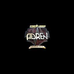 Sticker | AdreN (Gold) | Berlin 2019